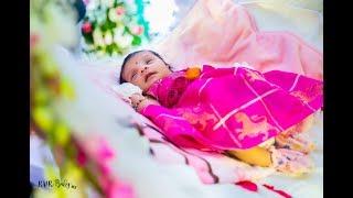 Haasya Cradle Ceremony