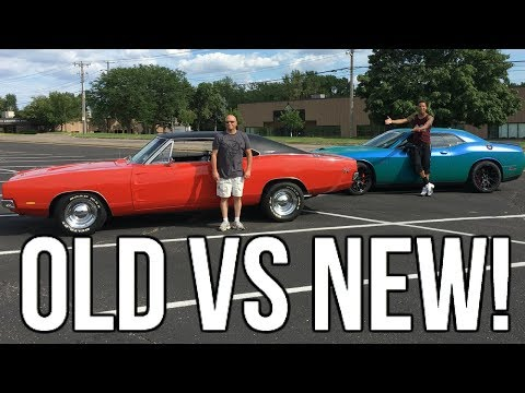 1969 Dodge Charger Review!!!! Old School Mopar vs New School Mopar!!