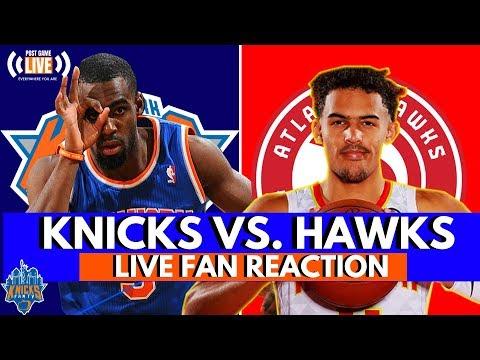Tim Hardaway Jr. Erupts For 31!| Knicks vs. Hawks Reaction and Fan Phone In!| Start at 1:30 Mark