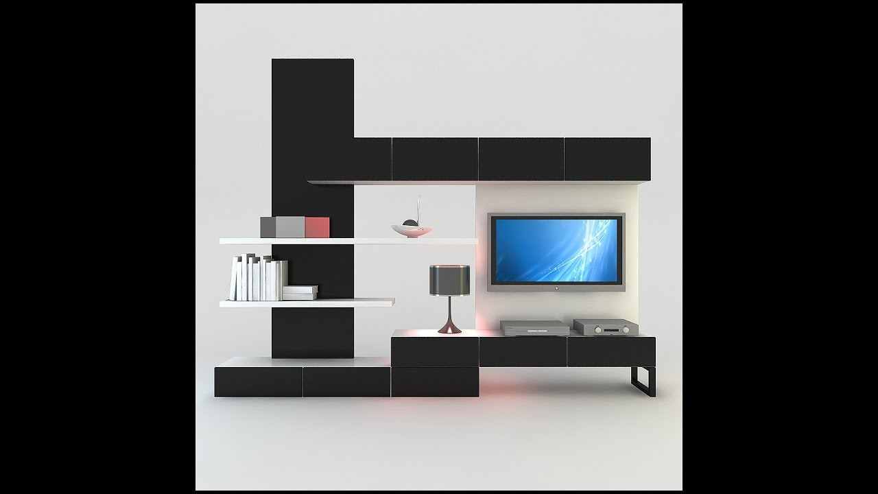 Amazing Your Beautiful Tv Wall Cabinet Design Ideas YouTube