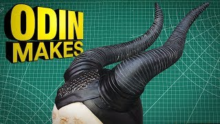 Odin Makes: Maleficent's Horns from Maleficent Mistress of Evil