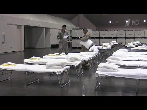 Из-за пандемии коронавируса США терпят настоящее бедствие, тяжелее всего в Нью-Йорке.