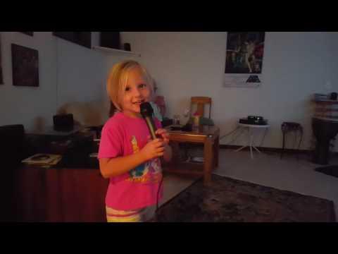 Singing Karaoke ABC Song
