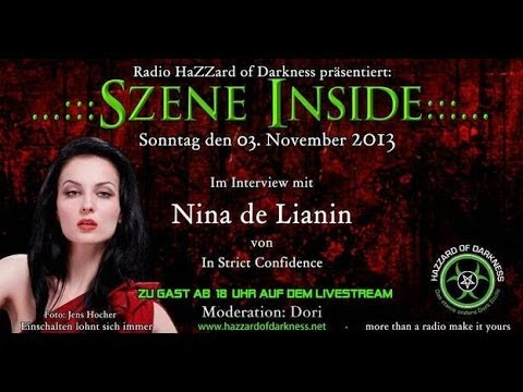 Radio Hazzard of Darkness - Interview mit Nina de Lianin (In Strict Confidence)