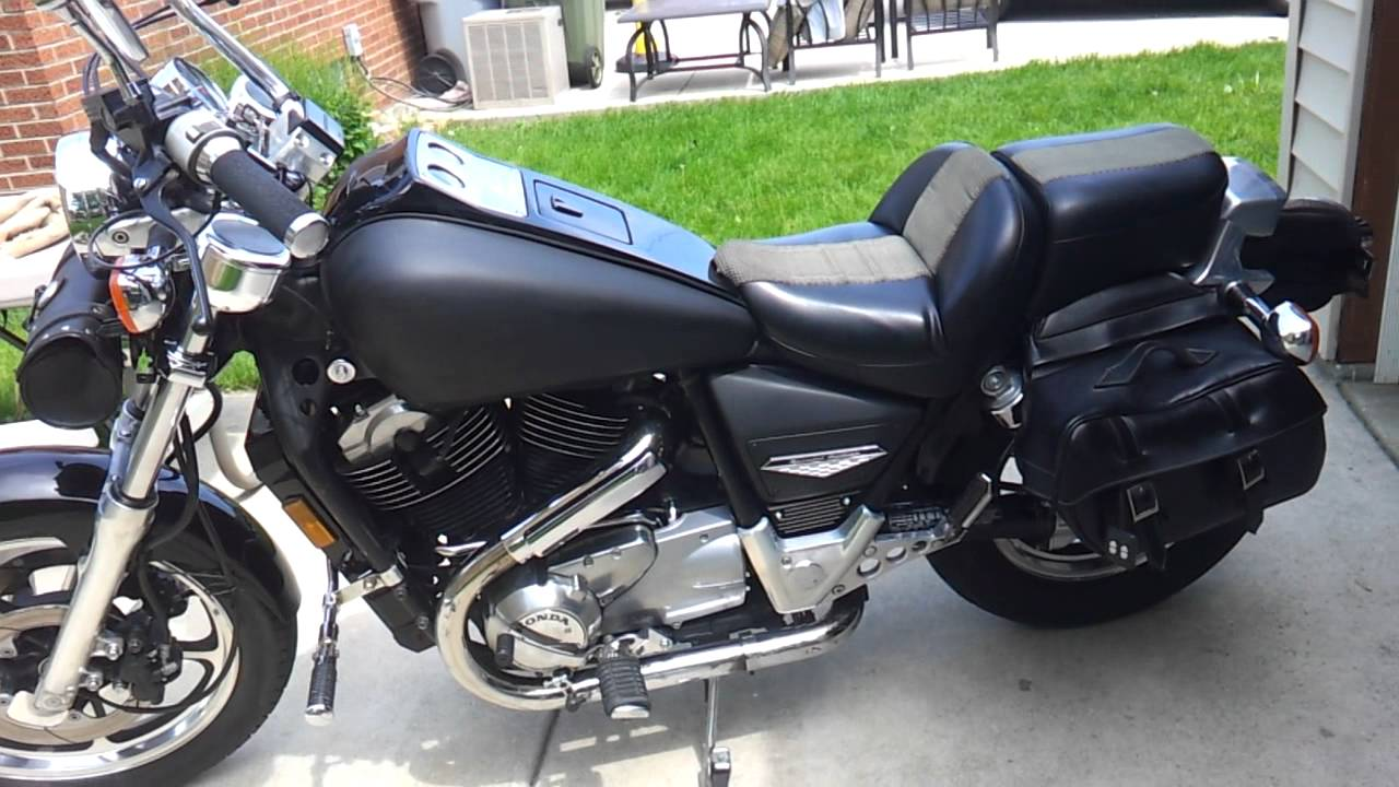 86 Honda Shadow Vt1100 Youtube