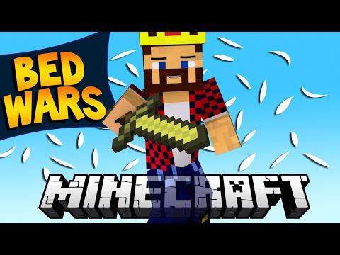 НАПАДАЕМ В ОДНОГО - Minecraft Bed Wars (Mini-Game)