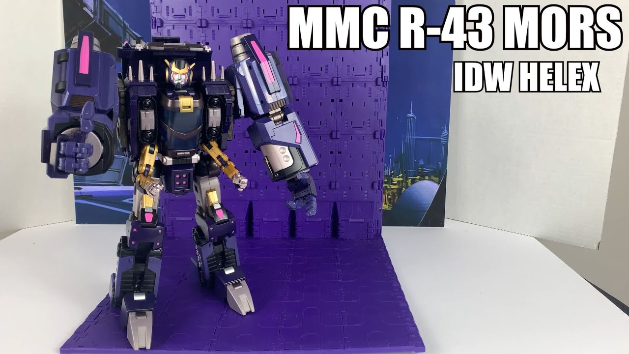 Mastermind Creations R-43 Mors (DJD HELEX) Unboxing and Review By Enewtabie