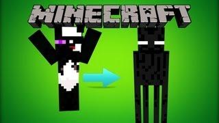 Minecraft: Mod Showcase- Shape Shifter Mod!! (Morph Into Any Mob!!!) (1.6.2)