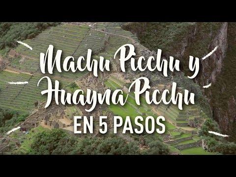 Buen Viaje a Machu Picchu - 5 pasos para conocer la impresionante ciudadela