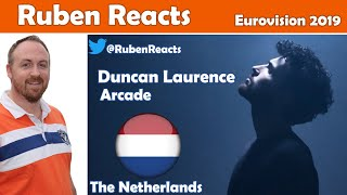 Duncan Laurence - Arcade - The Netherlands 🇳🇱 - Eurovision 2019 - Reaction