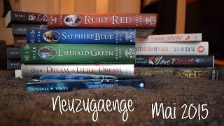 Mega Neuzugänge Mai 2015 | Bloodlines | Ruby Red | A Darker Shade of Magic | uvm.