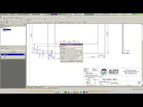 How to do Fabrication Drawings in FreeCAD