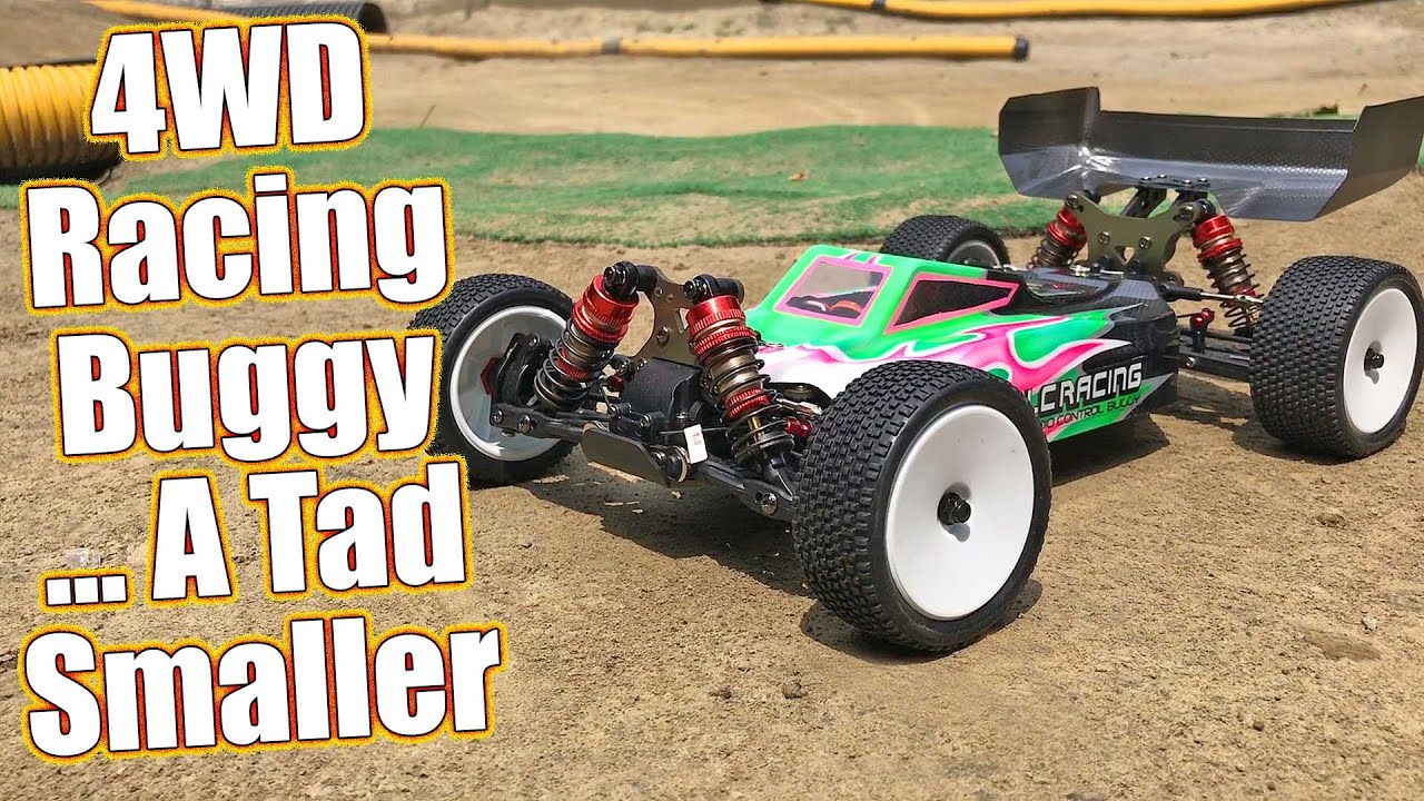 LC RACING 1:14 4WD Mini Brushless Truggy RTR EP RC Car Off Road EMB-TGH