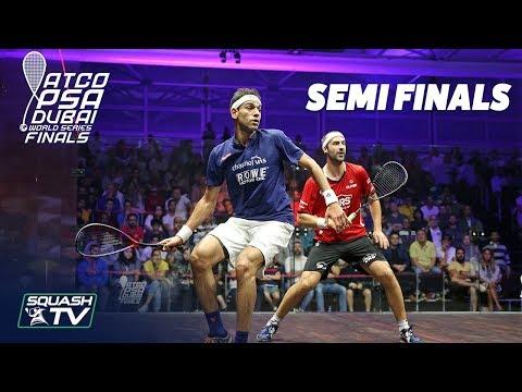 Squash: World Series Finals 2017/18 - Men\'s SF Roundup