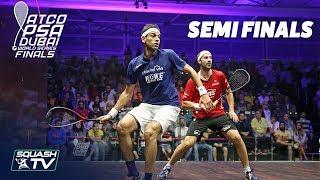 Squash: World Series Finals 2017/18 - Men's SF Roundup