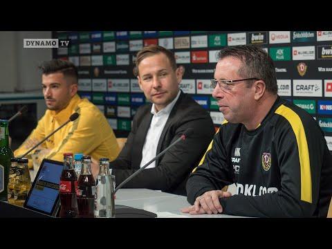 22. Spieltag   FCSP - SGD   Pressekonferenz vor dem Spiel