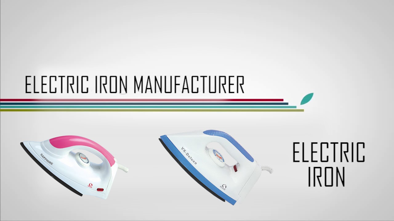 Electrical Irons Manufacturers & Suppliers in India ...