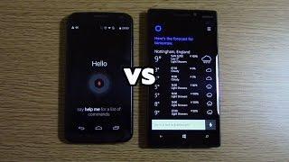 OK Google VS Hey Cortana - Performance Test