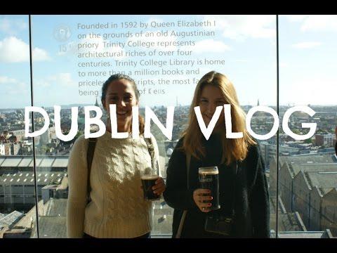 DUBLIN VLOG #2 - Irish Breakfast, Guinness Storehouse, Phoenix Park... | 2016