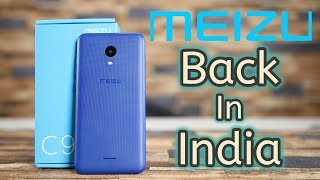 Meizu C9 Unboxing & First Look