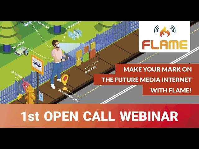 FLAME 1st OpenCall Webinar