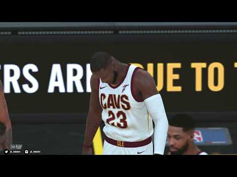 NBA 2K18 PC | Houston Rockets & Cleveland Cavaliers | 4K w/Mods | Asus 1080 Ti