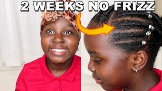 How To Moisturize No Braid Natural Hair Protective Style | DiscoveringNatural