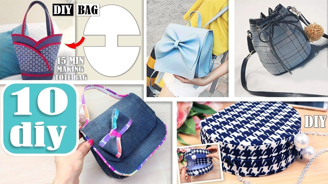 Cut Sew Purse Bag Designs Making