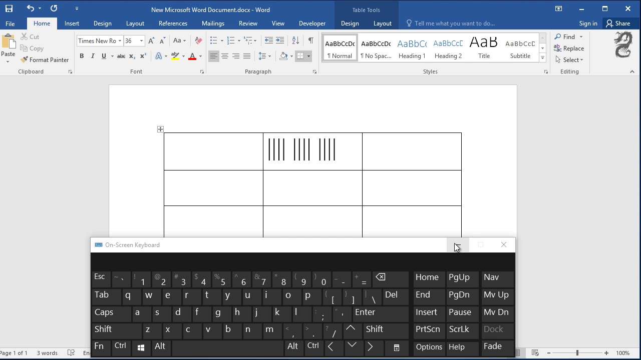 how to make tallies in word  how do i create tally marks