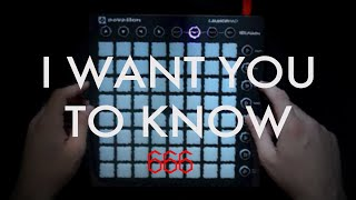 Zedd - I Want You To Know (Launchpad MK2 Cover)