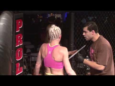 """Kai's BJJ / MMA Ozone Park Destiny """"The Cage Cutie"""" Quinones Vs Chrissy Yandolli NYFE 5 1/13/15"""