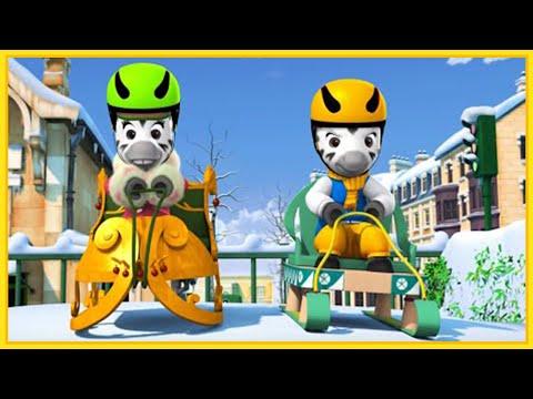 Смотреть онлайн мультфильм непоседа зу все серии подряд без остановки