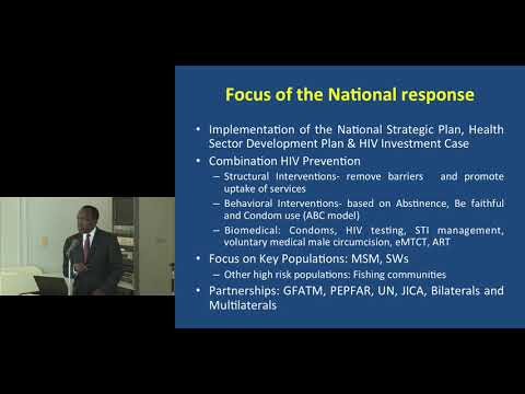 Kyoto University Global Health Interdisciplinary Unit Public Seminar Dr. Joshua Musinguzi