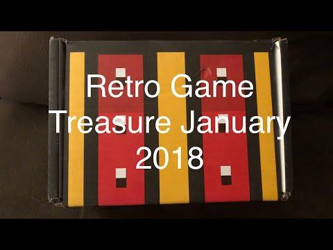 Retro Game Treasure unboxing January 2018