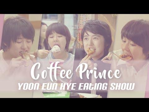 """[Mukbang] """"Coffee Prince"""" Yoon Eun Hye's Eating Show (Jjajangmyun, Pizza, Bibimbap, Tangsuyuk)"""