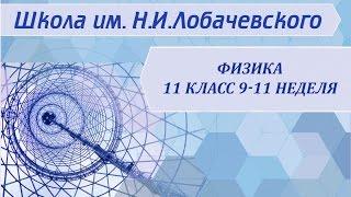 Физика 11 класс 9-11 неделя Электромагнитные колебания