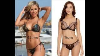 G String vs Thong