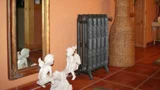 Чугунный радиатор(Видео-блог о дизайне, архитектуре и стиле. Идеи для тех кто обустраивает свой дом, квартиру, дачу, садовый..., 2014-03-19T09:33:14.000Z)