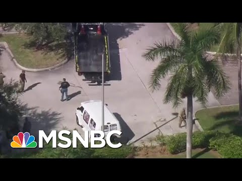 Suspect Arrested, Will Be Charged In Connection With Pipe Bombs | Craig Melvin | MSNBC