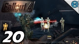 """Fallout 4 -Ep. 20- """"Arcjet Systems, Synth Battle"""" -Gameplay / Let"""