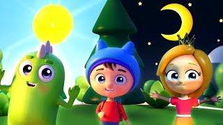 Песенка для детей - Солнце и Луна - Новый мультик малышам