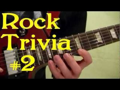 ROCK GUITAR TRIVIA #2 of 3 - Can You Guess All 15 Songs ...