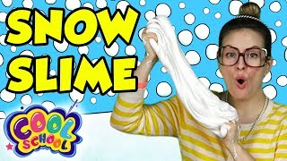 Snow Slime DIY! - Snow DIY Part 2 | Arts and Crafts with Crafty Carol