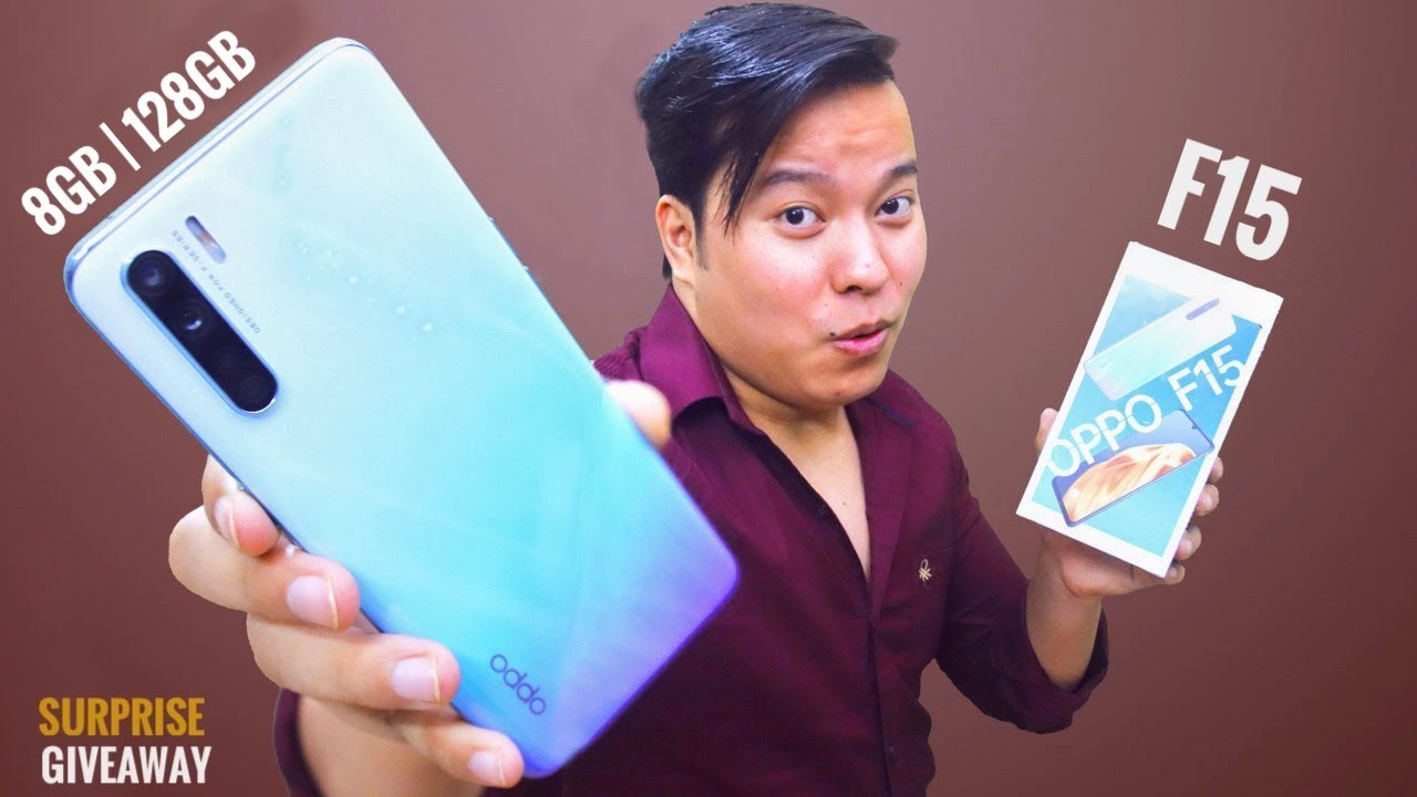 Download OPPO F15 Unboxing & First Impressions + Giveaway 😍😍