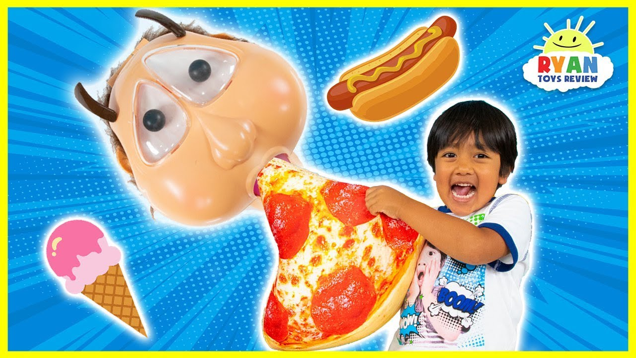 Phil' Up Chuck Family Fun Board Game with Ryan vs Mommy!!