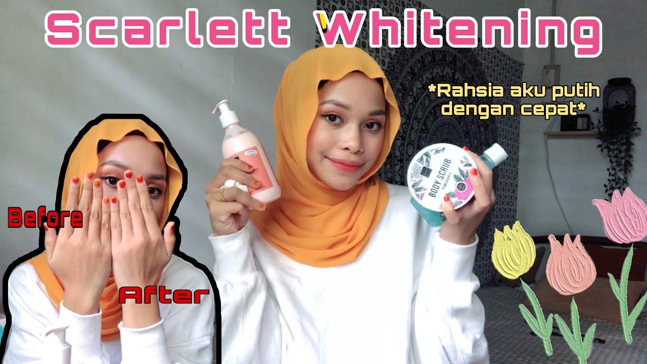 Cara dapat kulit yang CERAH dan CANTIK ! *Scarlett Whitening Review* | Natasya Najwa
