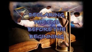 Declaring The End Before The Beginning: Hebrew Israelite: Sabbath Class: 7/13/19