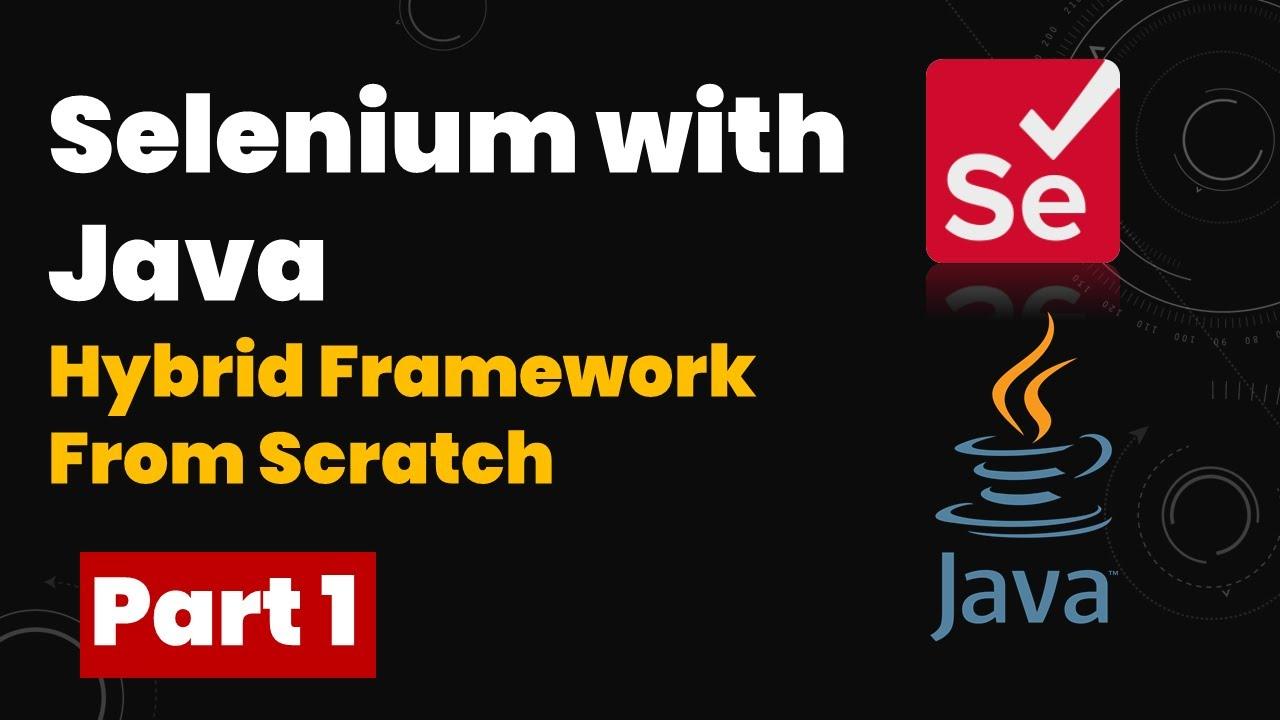 Download Selenium Hybrid Framework Part-1 | e-Banking Automation Mini Project