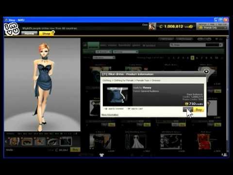 IMVU  Shopping the Catalog  YouTube