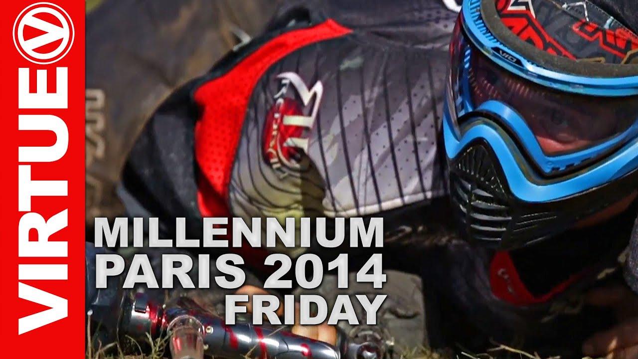 Millennium Paintball 2014 World Cup - Paris Chantilly - Friday - Part 1/3 - YouTube